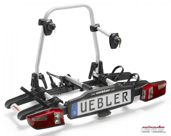 Uebler X21S inkl. Kennzeichen Fahrradträger Heckträger Faltbar für 2 Fahrräder 15760