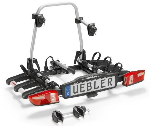 Uebler X31S inkl. Kennzeichen Fahrradträger Heckträger Faltbar für 3 Fahrräder 15760