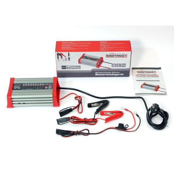 Dino KRAFTPAKET KFZ Batterieladegerät 20A-12V