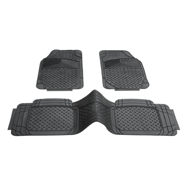 DINO Fußmatten Gummimatten zuschneidbar mit Mitteltunnelschutz