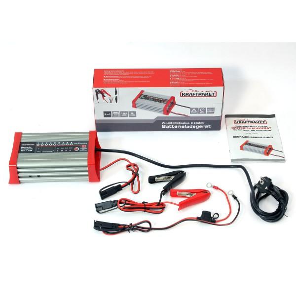 Dino KRAFTPAKET KFZ Batterieladegerät 10A-12V mit Camping-Funktion