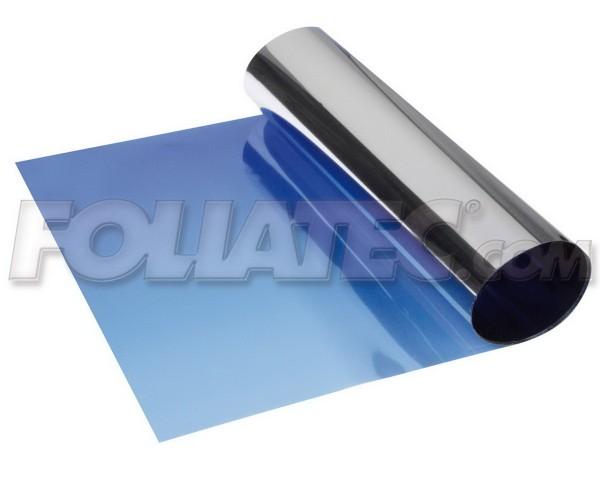 FOLIATEC Blendstreifen - Sunvisor - Sonnenschutzstreifen - 15 x 152 cm - blau