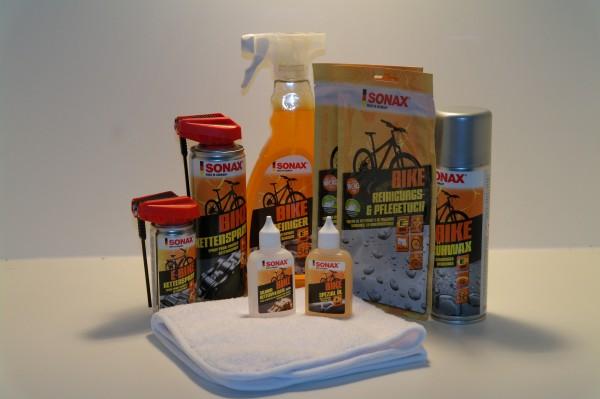 Fahrrad Reinigungsset Sonax Bike 9 Teiliges Pflege Set