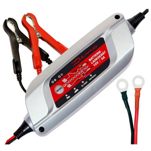 Dino KRAFTPAKET Batterieladegerät 12V 5A KFZ PKW Auto Motorrad Batterie Ladegerät