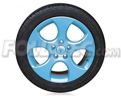 FOLIATEC Sprühfolie - 2x 400ml Spray - hellblau glänzend