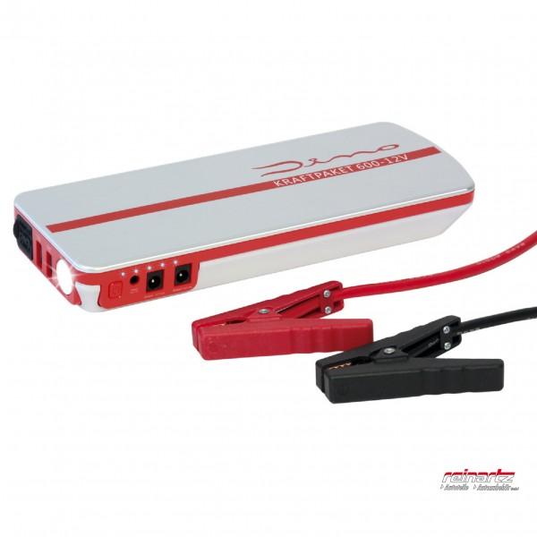 DINO KRAFTPAKET 12V Starthilfe mit Powerbank - 18000mAh 600A