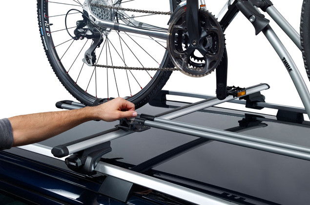 thule 532 freeride fahrradhalter f r dachtr ger inkl. Black Bedroom Furniture Sets. Home Design Ideas